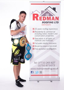 Redman Roofing Ltd are a Proud Sponsor of Kelvin Young